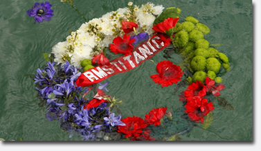 RMS Titanic Wreath